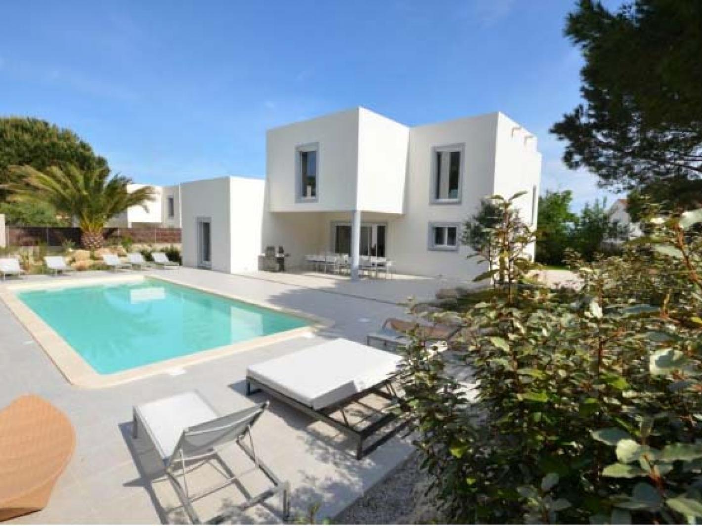 Location calvi villa anghjulella proche plage calvi - Location villa calvi avec piscine ...