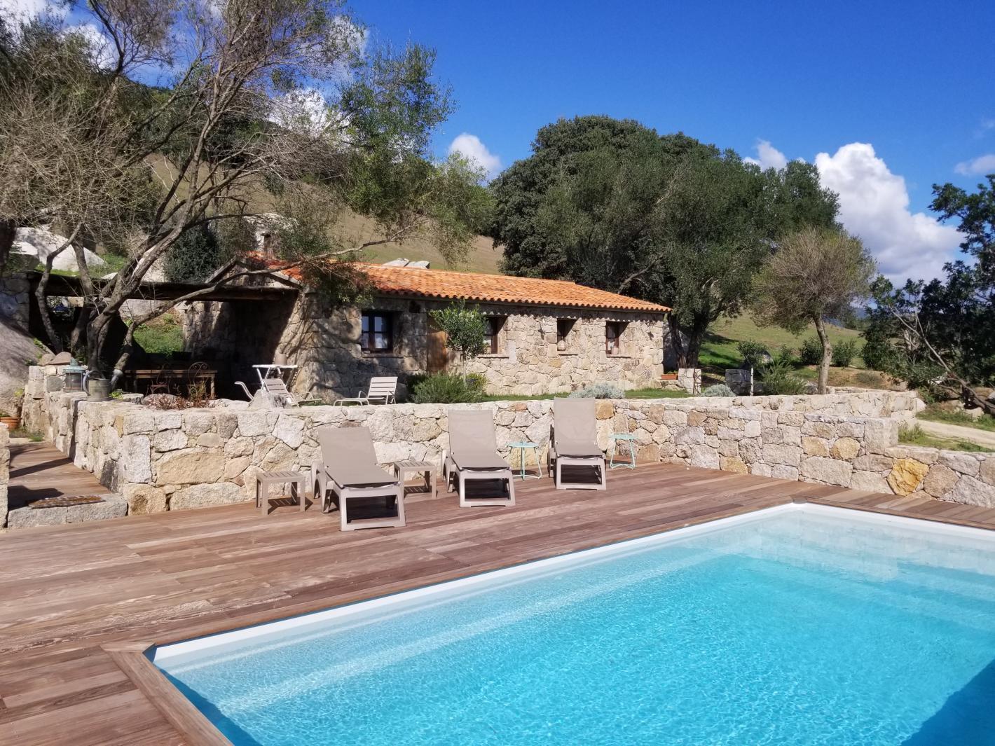 Maison bergerie corse avec piscine priv e chauff e porto - Location maison piscine porto vecchio ...