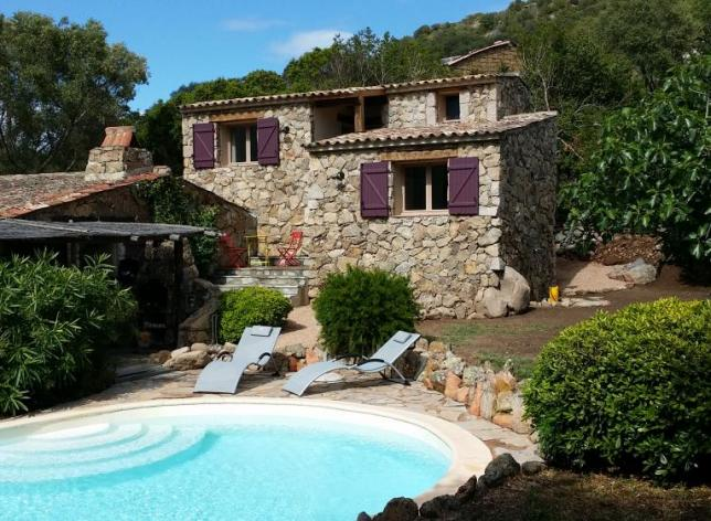 Location villa corse maison de vacances en location et vente for Location villa