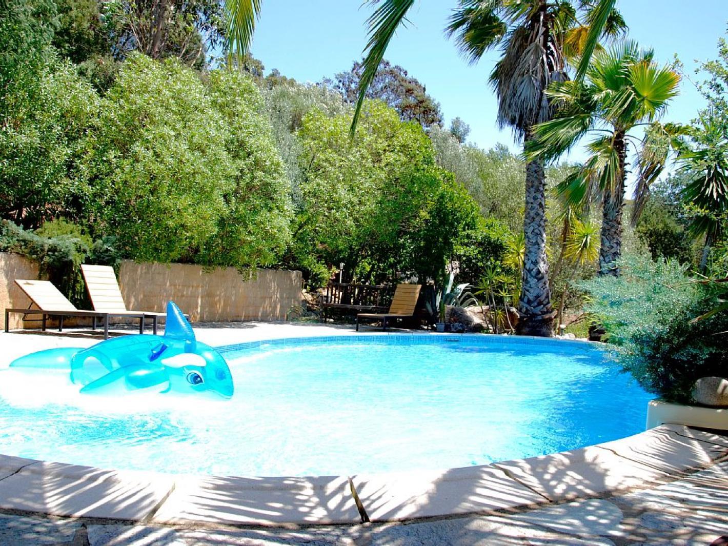 Villa porto vecchio vue mer piscine proche plages porto - Location maison piscine porto vecchio ...