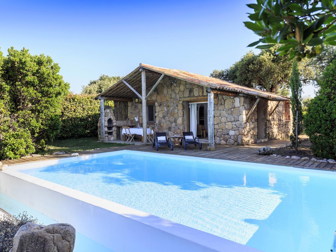 Location maison de charme bergerie avec piscine porto vecchio - Location maison piscine porto vecchio ...